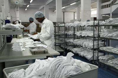 Building workwear logistics infrastructure