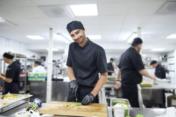 Lindstrom Workwear for hotels and restaurants kitchen staff