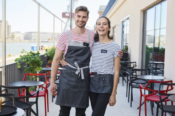 Workwear for hotels and restaurants waiting staff