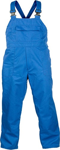 mens blue bib and brace overalls